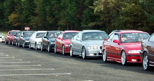 NI-BMW Photoshoot at Lough Shore Car Park