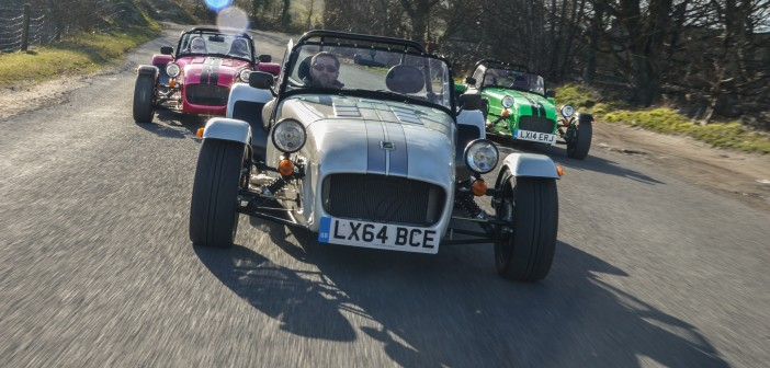 Caterham add three new models to iconic 7 range