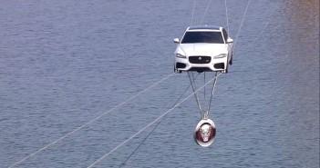Jaguar XF High Water Crossing
