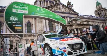 Circuit of Ireland 2015 Shakedown & Start