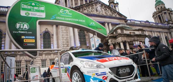 ERC Circuit of Ireland 2015 Kicks Off