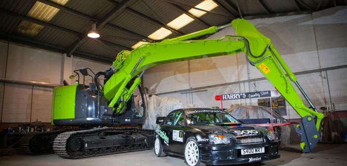 Stuart Biggerstaff's S9 Impreza Rally Car