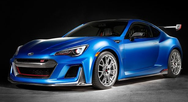 450BHP Subaru BRZ STI surprises at New York Auto Show