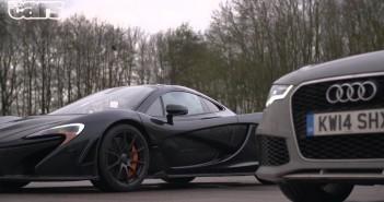 Chris Harris and the McLaren P1
