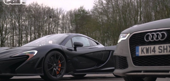 Chris Harris and the McLaren P1