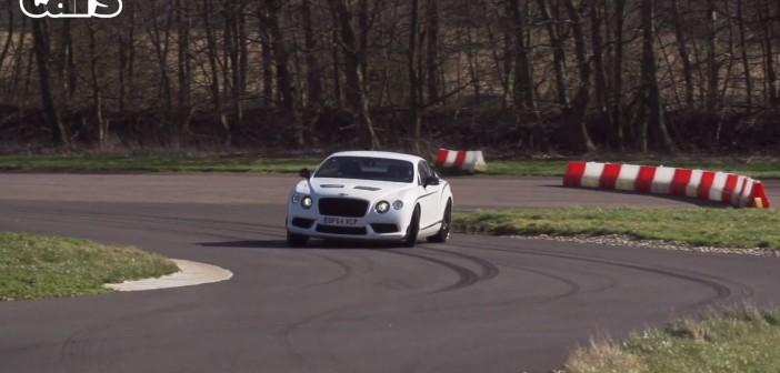 Chris Harris in a Bentley GT3 R