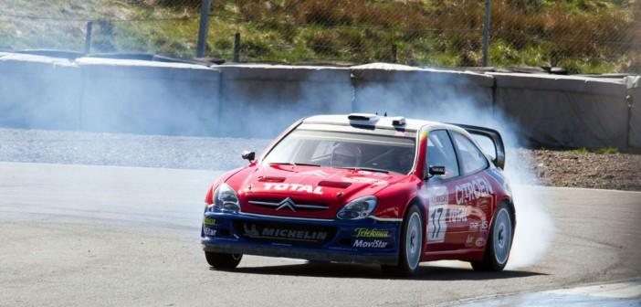 Kris Meeke drives McRae's Iconic Xsara at Rally Challenge