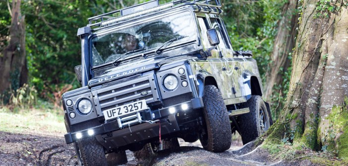 Land Rover Defender: Fifty Shades of Mud