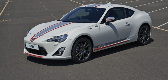Special edition Toyota GT86 Blanco revealed