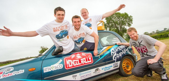 Mongol Rally: NI to Asia in a Micra