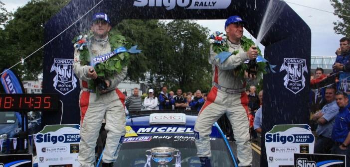 Kelly crowned National Rally Champion in Sligo