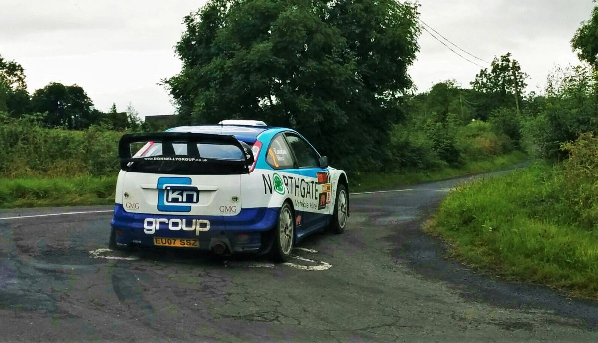 Donagh Kelly Ulster Rally 2015