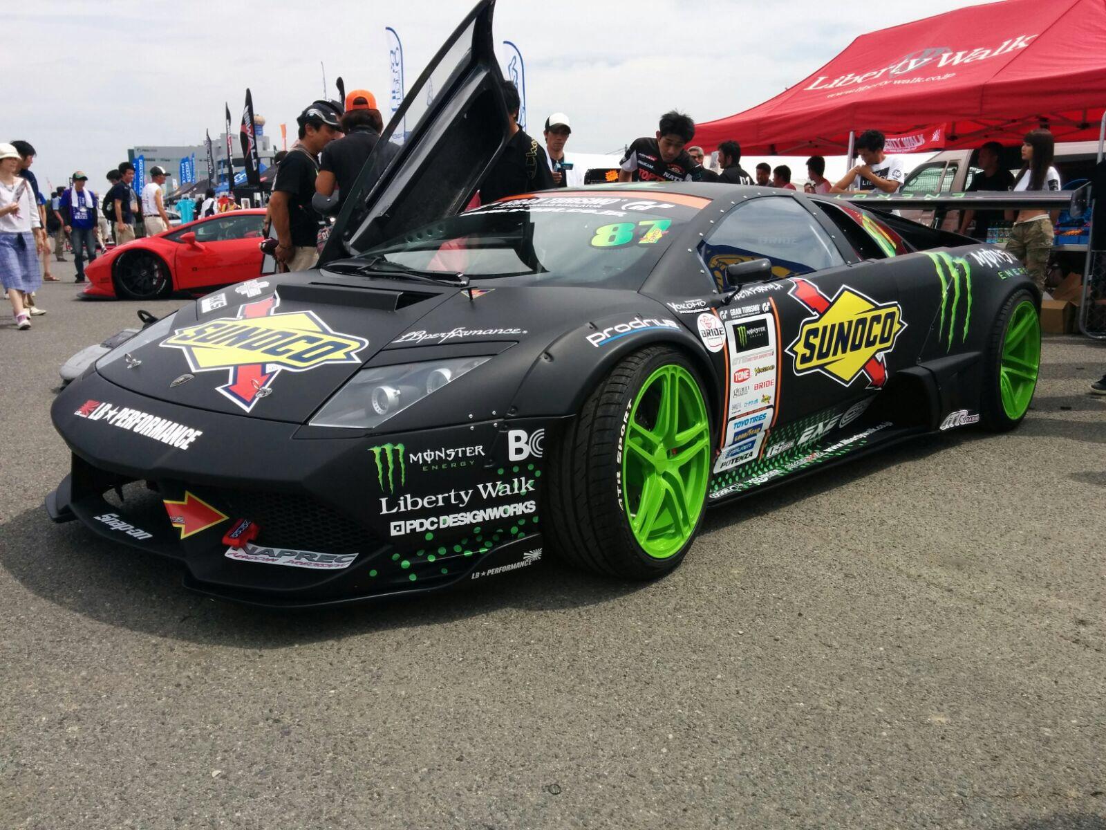 Daigo Saito Lamborghini Murcielago Drift Car