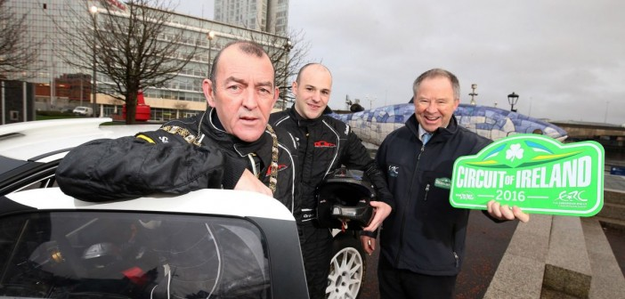 Belfast to Host Circuit of Ireland Rally HQ for 2016