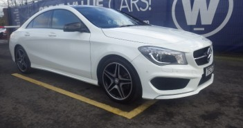 Mercedes CLA200 17,391 Miles