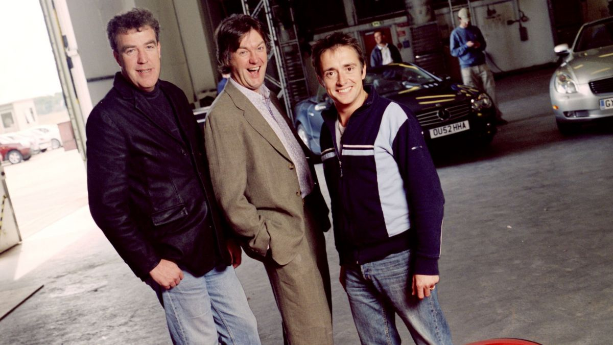 Clarkson, Hammond and May Fresh Faced in 2003