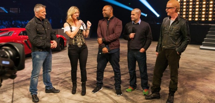 New Top Gear Team at Liverpool Event