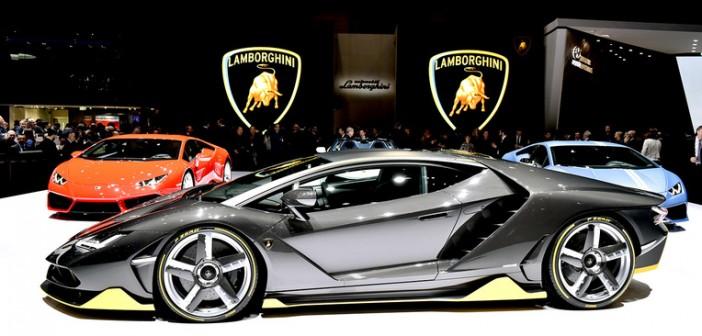 Geneva Motor Show 2016: Lamborghini Centenario