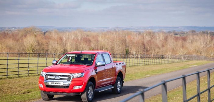 Front of Ford Ranger