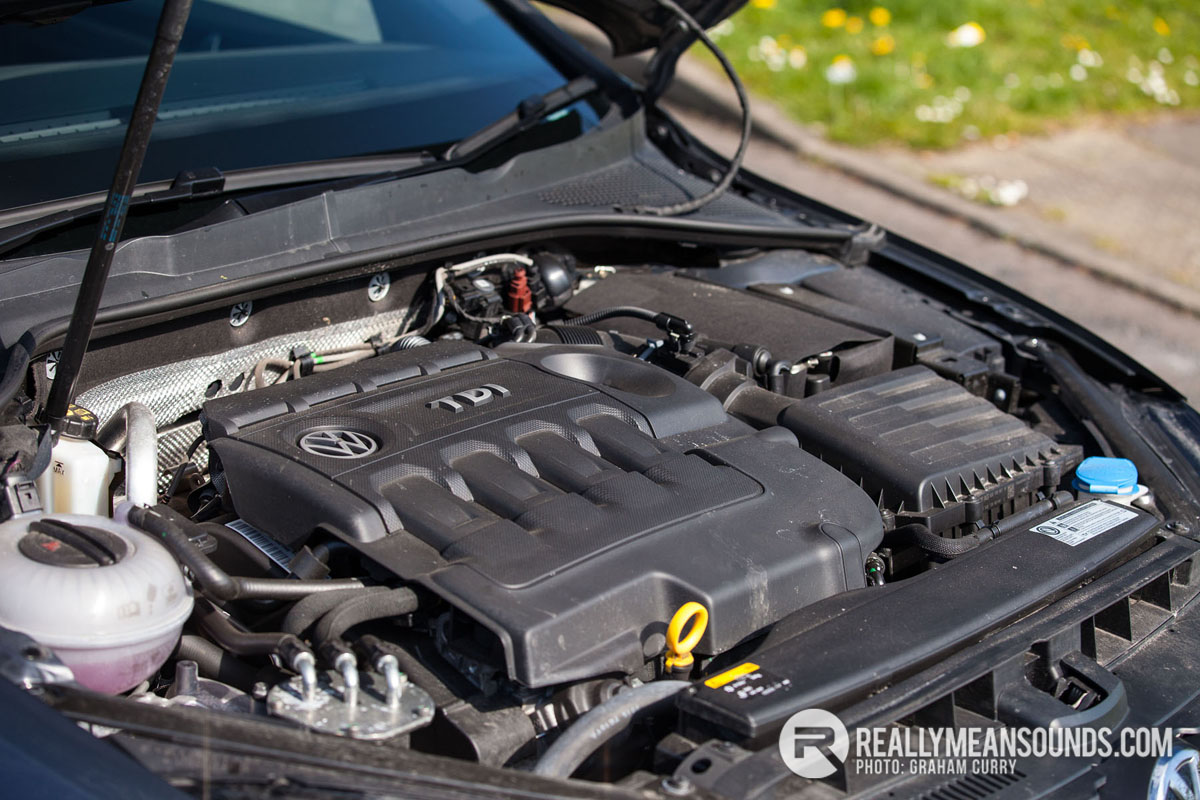 Golf GTD Engine Bay