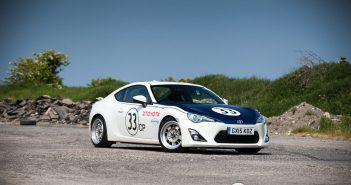 Front of Toyota GT86