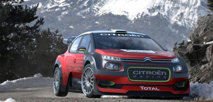 C3 WRC Concept Unveiled