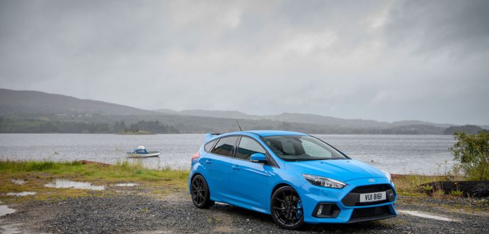 Side of Ford Focus RS