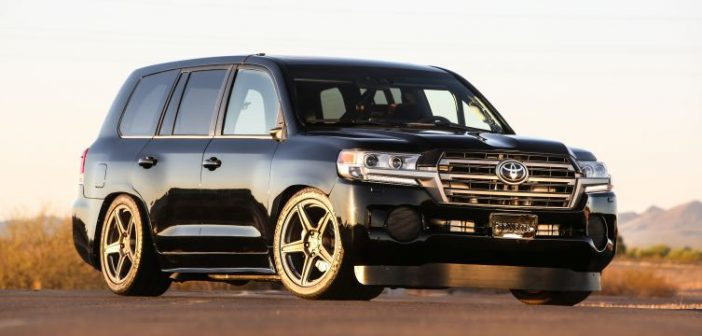 Toyota 'Land Speed' Land Cruiser