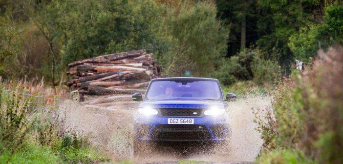 Brutal Range Rover SVR on Test
