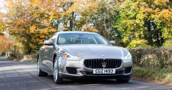 Front of Maserati Quattroporte