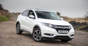 Front of Honda HR-V