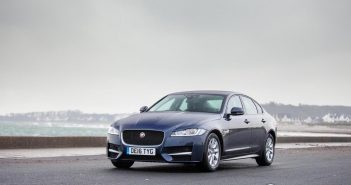 Front of Jaguar XF