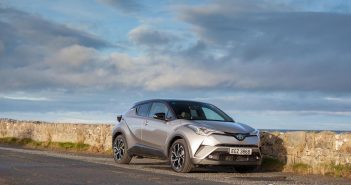 Front of Toyota C-HR