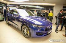 Front of Maserati Levante