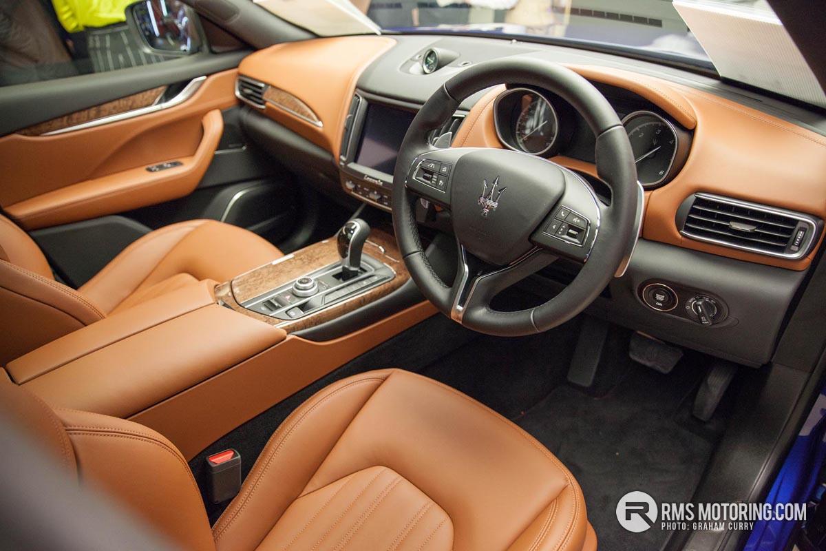 Maserati Levante Front Seats
