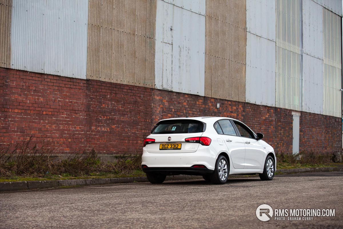 Rear of Fiat Tipo