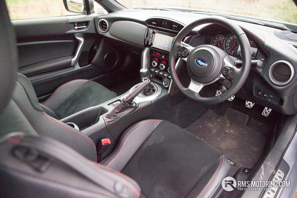 Subaru BRZ Front Seats