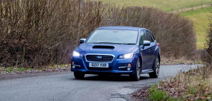 Front of Subaru Levorg
