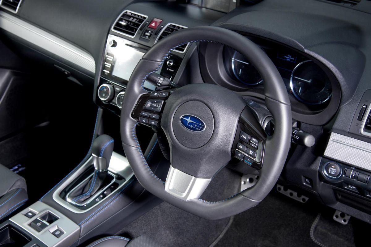 Subaru Levorg Front Seats