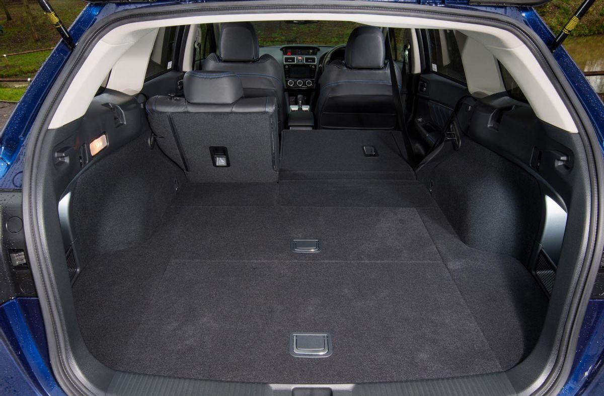 Subaru Levorg Boot