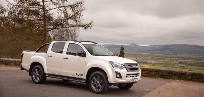 Side of Isuzu D-Max