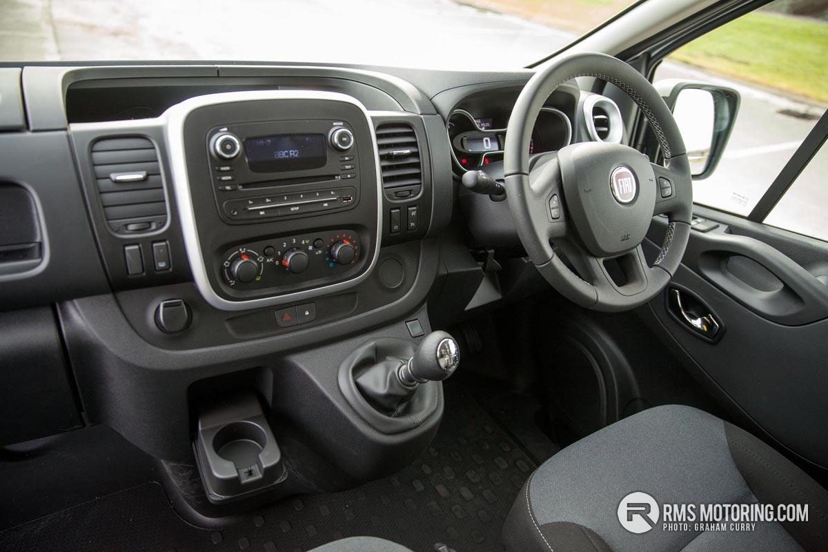 Fiat Talento Front Seats