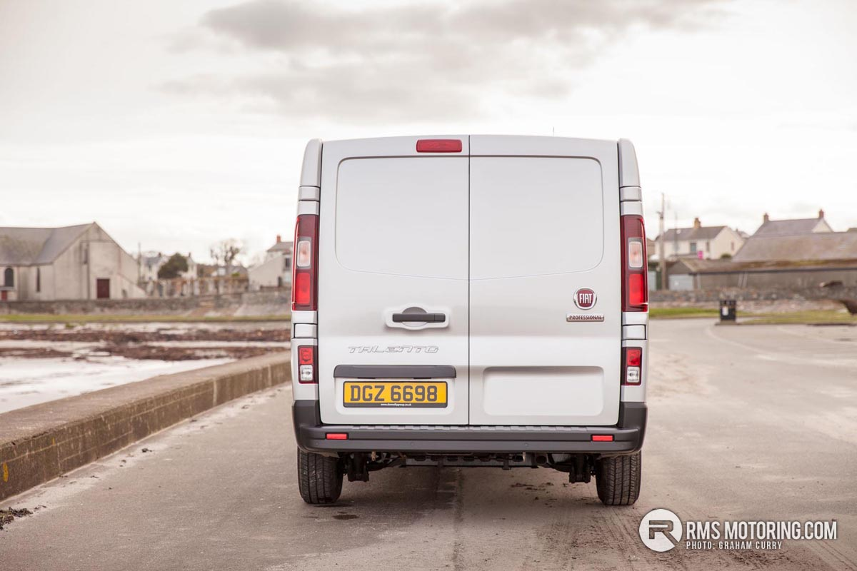 Rear of Fiat Talento