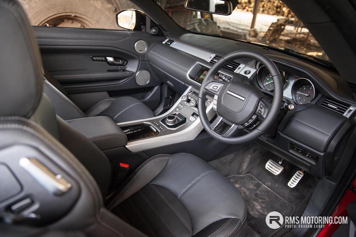 Range Rover Evoque Front Seats