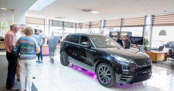 Front of Range Rover Velar