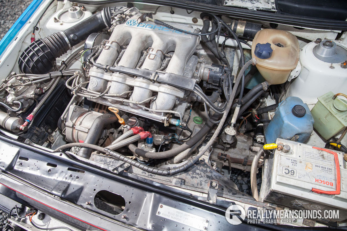 Volkswagon Golf Engine