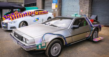 Back to the Factory Car Show at DeLorean Site