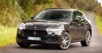 Front of Maserati Levante S