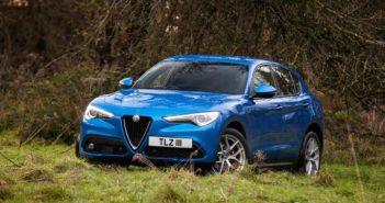 Front of Alfa Romeo Stelvio