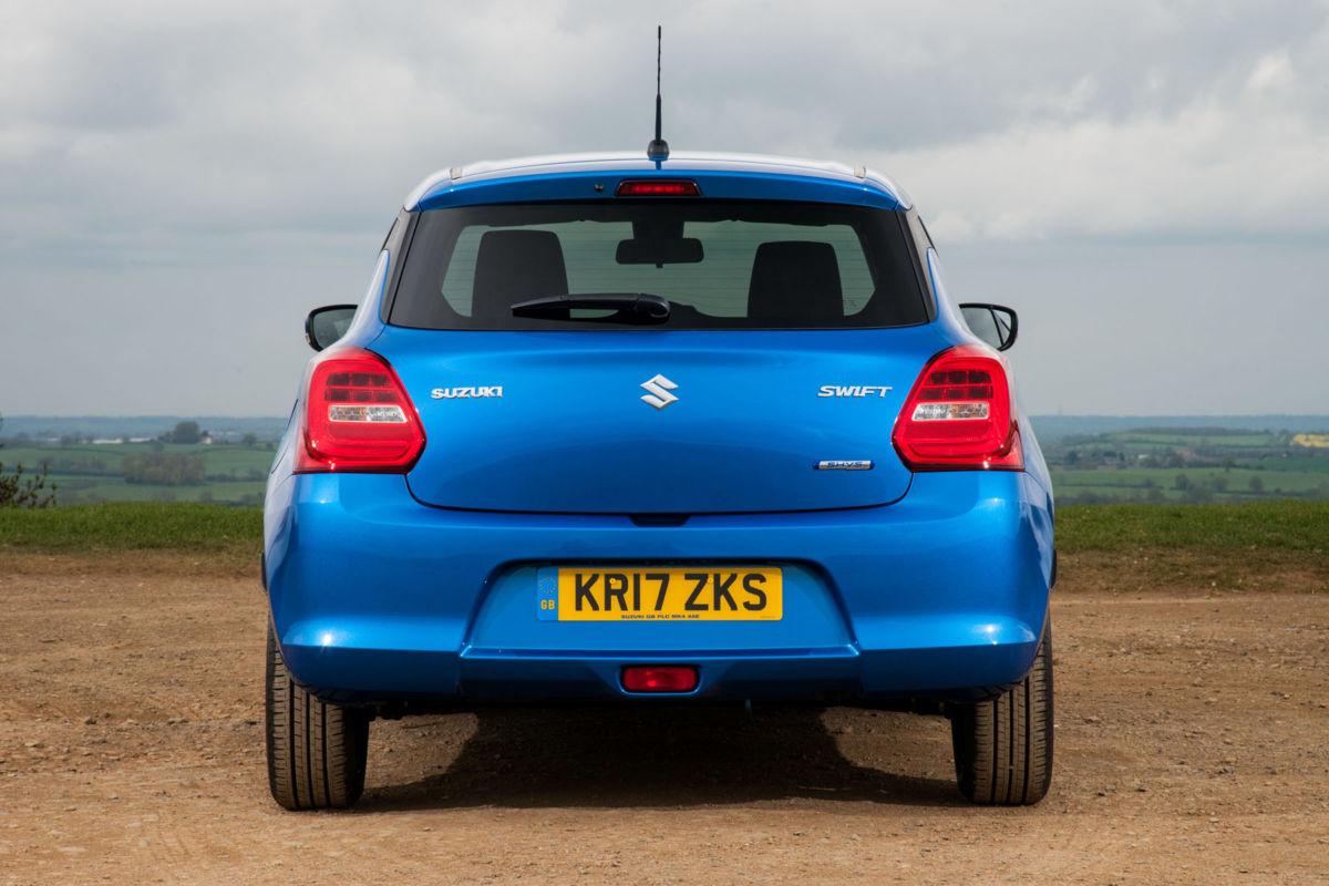 Rear of Suzuki Swift
